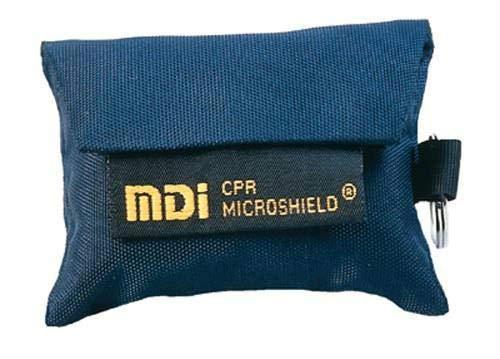 MDi CPR Microshield Keychain, Navy