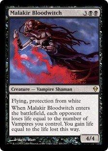Magic: the Gathering - Malakir Bloodwitch (100) - Zendikar -