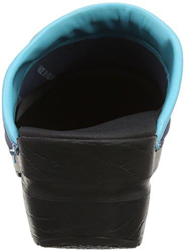 Blau 29 open Eden Aqua Clogs Navy Damen Sanita vw0Ix5FqF