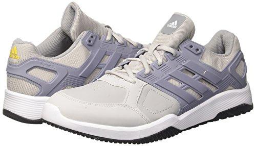 Gris Deux Adidas Hommes Gymnastique Blanc M Trainer gris 8 Moyen Chaussures De Duramo Rqv58W