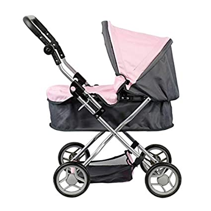 Doll Stroller - Carro capota - Manillar regulable en altura: 45 - 72 cm -