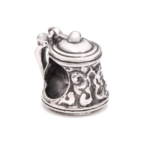 Silver Beer Sterling (Authentic Novobeads Sterling Silver 1363 Beer Stein, Silver)