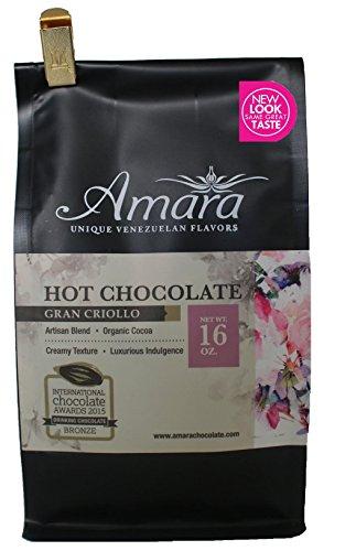 Best Cocoa - Amara Hot Chocolate Mix. Gourmet Dark Cocoa