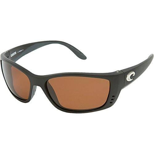 Costa Del Mar Fisch Sunglasses Black / Copper 580Glass Black Copper
