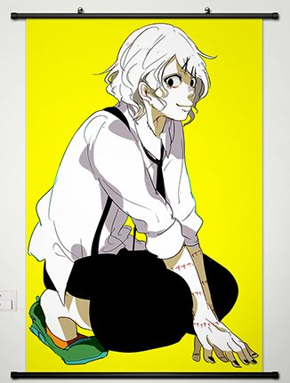 Wall Scroll Poster Fabric Painting For Anime Tokyo Ghoul Juz