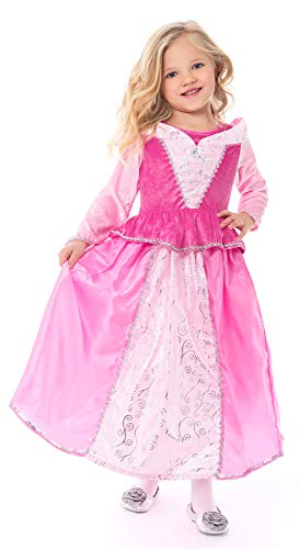 Little Adventures Sleeping Beauty Princess Dress Up Costume (X-Large Age 7-9)
