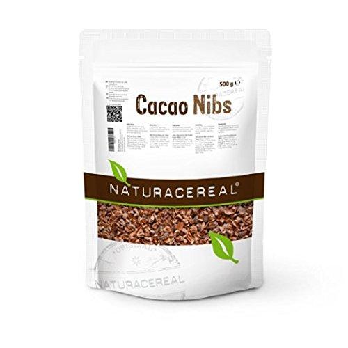NATURACEREAL Puntas de Cacao Crudos 500g - | Ricos en minerales, vitaminas y antioxidante | Apto para veganos | Sin ingeniería genética |: Amazon.es: ...