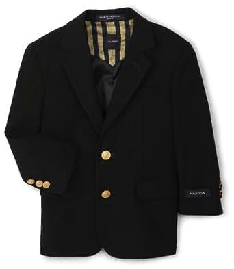 Nautica Dress Up  Big Boys'  Navy Blazer, ELO Blue,8