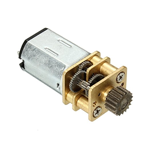 Hitommy DC6V 55RPM Gear Motor Miniature Gear Box Motor