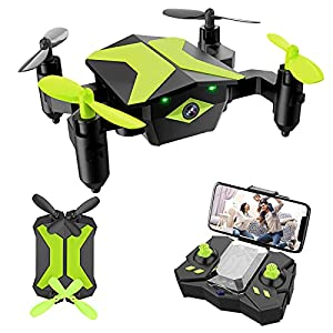 Flashandfocus.com 41JczkNdVYS._SS300_ Drone with Camera Drones for Kids Beginners, RC Quadcopter with App FPV Video, Voice Control, Altitude Hold, Headless…
