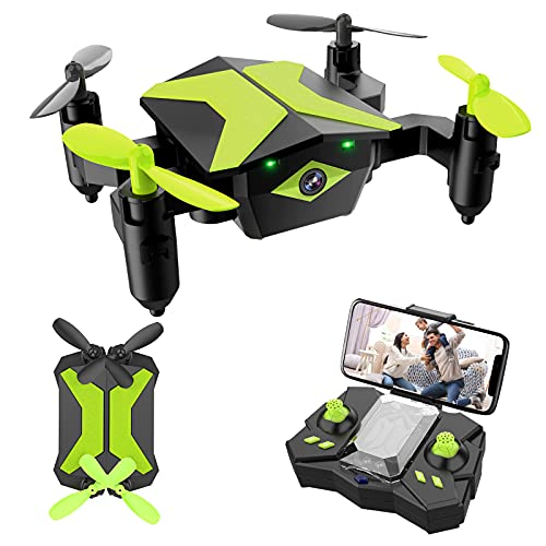 Drone with Camera Drones for Kids Beginners, RC Quadcopter with App FPV Video, Voice Control, Altitude Hold, Headless…