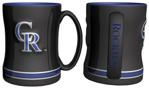 Boelter Brands MLB Colorado Rockies 226626 Coffee Mug, Team Color, 14 ()