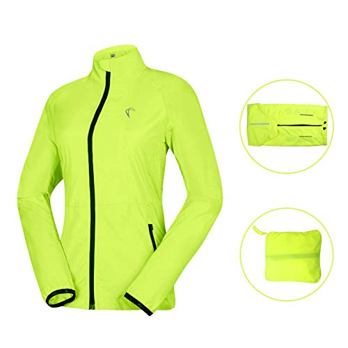 Shelcup Women's Windproof Water Resistant Convertible Cycling