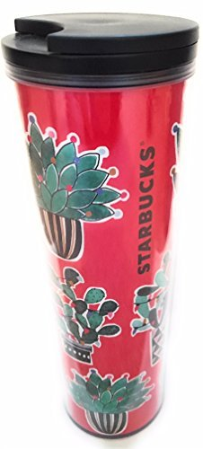 Starbucks 2017 Holiday Desert Cactus Insulated Cold Cup
