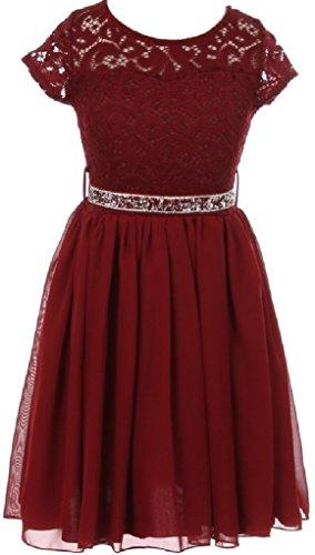 Sparkle Chiffon Skirt - 2