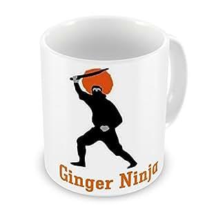 Ginger Ninja taza de regalo