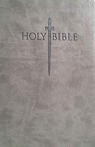KJVER Sword Value Thinline Bible Large Print Pewter Gray Ultrasoft: King James Version Easy Read