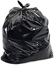 """Trash Can Liners, Recycled PGB Series, Black, 33 Gallon, 33"""" Width x 39"""" Length, 2 Mil Thick, Corele"""