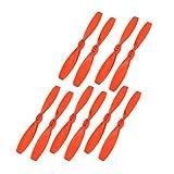 uxcell 5 Pairs Orange 3 x 2 Inches 2-Vanes Flat