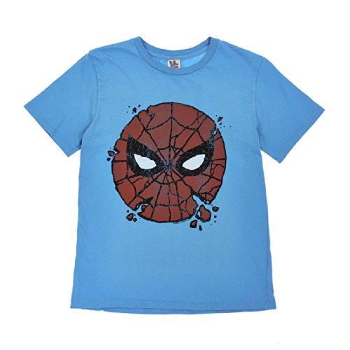 Junk Food Big Boys' Graphic Tee (Toddler/Kid) - Spider-Man I'm Amazing - 12