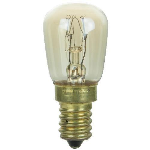 SUNLITE 15w PRE 120v E14 European Base Clear Bulb 25pcs