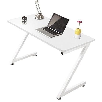 Lyndan - Decatur blanco Compact mesa de ordenador escritorio Z ...