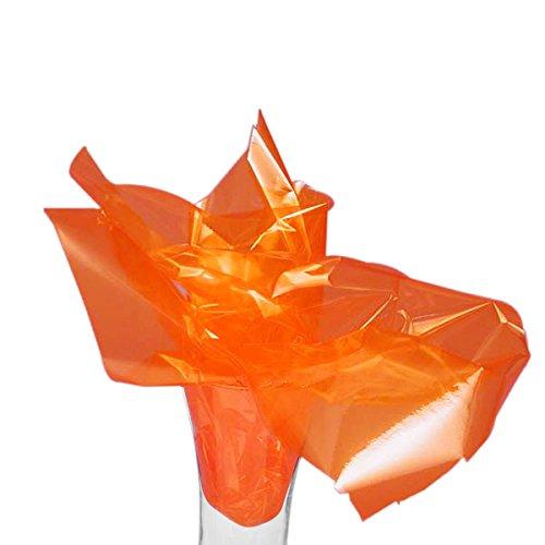 Orange Cellophane 20