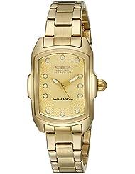 Invicta Womens 15849 Lupah Analog Display Quartz Gold Watch