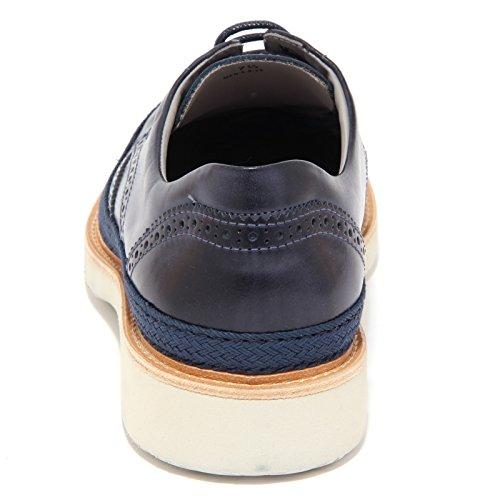 3811Q scarpa uomo HOGAN ROUTE DERBY shoe men Blu