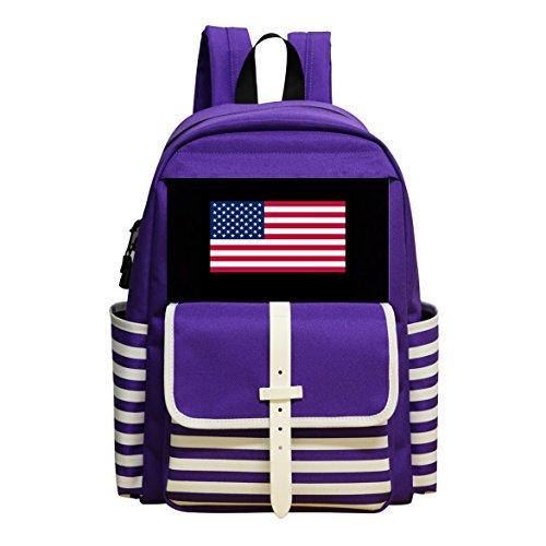 Boys & Girls School Backpack USA Wrestling Children Student Shoulder Bag by adengdda9