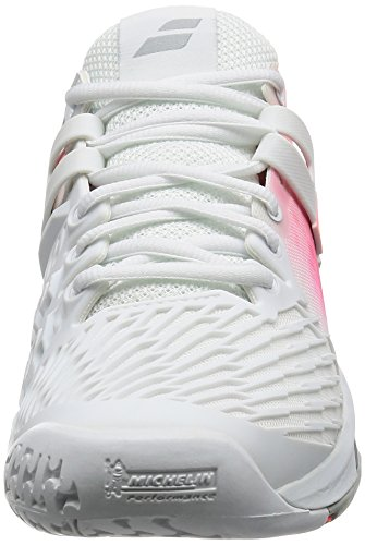 Babolat Womens Propulse Furie All Court Tennisschoen Wit / Roze