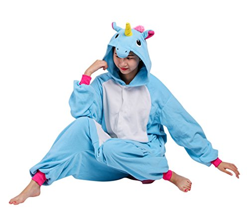 Adulto Animale Pigiama Cosplay Sleepwear 1 Unisex Blu Kigurumi Costume SwqgHwR