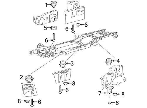 Ford Oem Frame Rail Bolt 6L1z78001b39ba Image 6