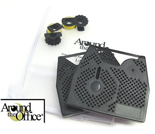 Around The Office Compatible Smith Corona Typewriter Ribbon & Correction Tape for XL 2000.This Package Includes 2 Typewriter Ribbons and 2 Lift Off Tapes by Around The Office