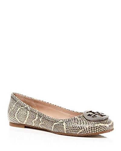 Tory Burch Reva Womens Leather Flats Shoes - 4