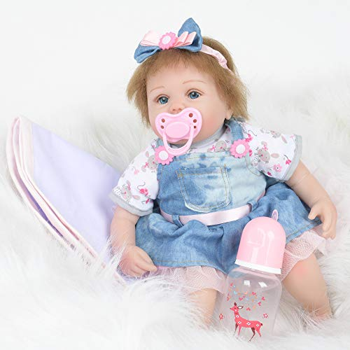 LtrottedJ Reborn Baby Doll Realistic Soft