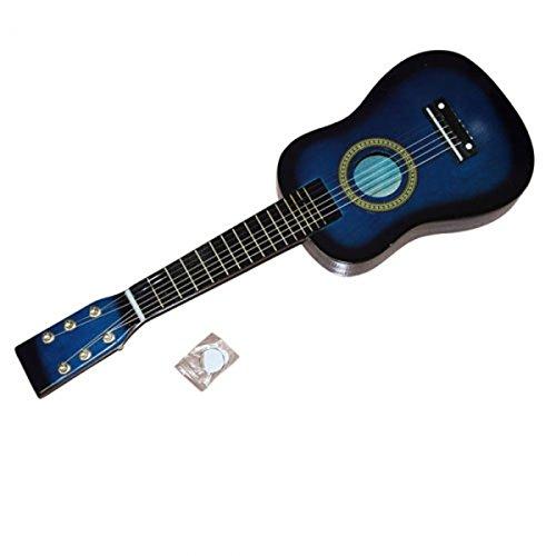 Soogo 23 Inch Toys Guitar Children Acoustic Guitar + Pick + Strings Acoustic Guitar for Kids (blue) by Soogo