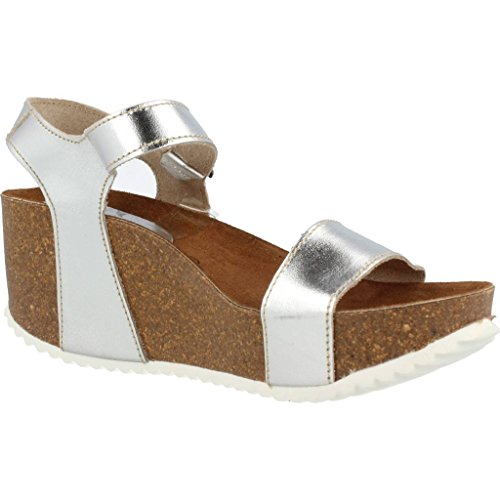 Inter-BIOS Sandals and Slippers for Women, Colour Silver, Brand, Model Sandals and Slippers for Women 8317I Silver