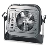 garage lightings with heater - Dayton 4E169 5000 Watt Electric Garage Heater With Thermostat