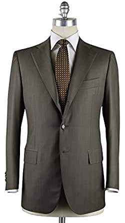 Cesare Attolini New Olive Green Suit 38/48 at Amazon Men's ...