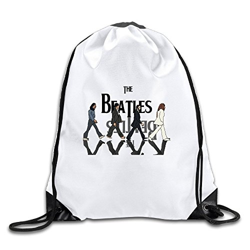 - The Beatles Crossing Sports Drawstring Backpack For Men & Women