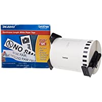 Brother 4 x 100 Feet Continuous Length Paper (DK2243) - Retail Packaging