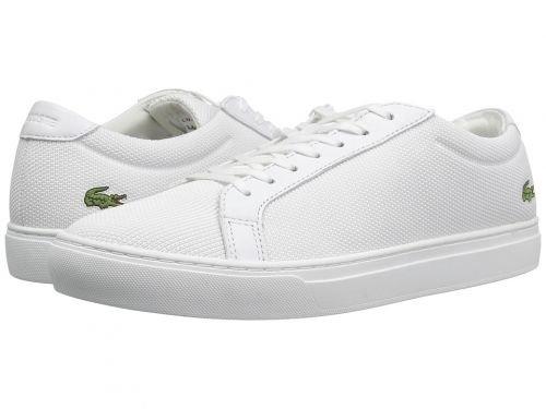 Lacoste(ラコステ) メンズ 男性用 シューズ 靴 スニーカー 運動靴 L.12.12 BL 2 - White [並行輸入品] B07C8GHQNC