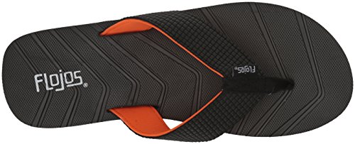 Flojos Flojos Men's Black orange Men's pnapY50xwq