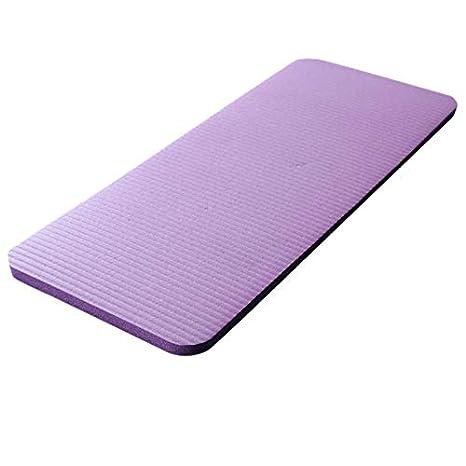 JVSISM Yoga Rodillera Estera De Yoga De 15 M Grande Pilates Gruesos Ejercicio Aptitud Pilates Estera De Entrenamiento Tapetes Antideslizantes para ...