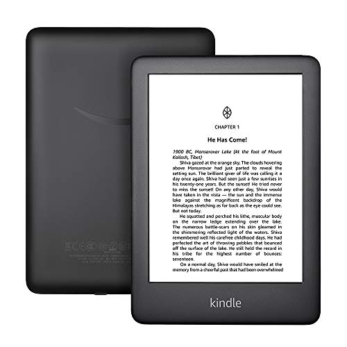 All-New Kindle (10th Gen), 6' Display now with Built-in Light, 4 GB, Wi-Fi (Black)