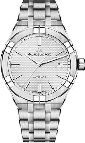 Maurice Lacroix Men's Aikon Automatic 42 mm Watch | Silver