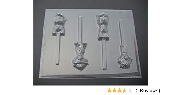 Amazon.com: Paw Patrol Dogs Chocolate Candy Lollipop Mold Paw Print: Kitchen & Dining
