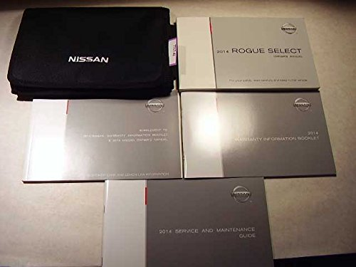 Price comparison product image 2014 Nissan Rogue Select Owners Manual