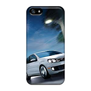 Tough Iphone PbDWP34649WXpGC Case Cover/ Case For Iphone 5/5s(volkswagen Gti White)
